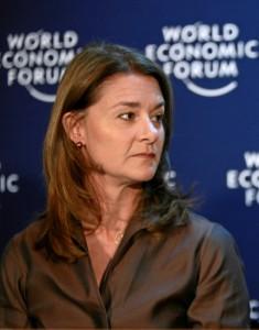 Melinda_Gates,_Davos_2009